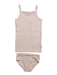 Cozy me underwear girl - ROSE MELANGE