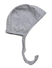 Cozy hat - PALE GREYMARL