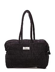 Velvet quilt bag - CHROME