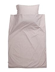 Stripe bed linen baby - ROSE