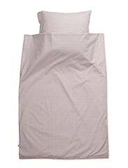 Stripe bed linen junior - ROSE