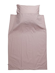 Solid bed linen adult - ROSE