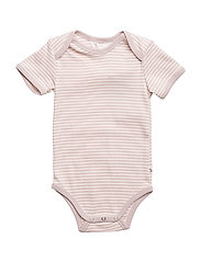 Stripe s/sl body - ROSE