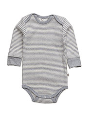 Stripe l/sl body - PALE GREYMARL