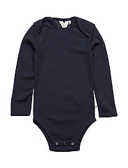 Woolly l/sl body - NAVY