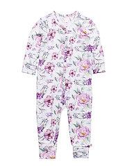 Spicy flower bodysuit - ROSE