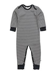 Stripe bodysuit - NAVY