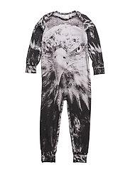Spicy eagle bodysuit - PALE GREYMARL