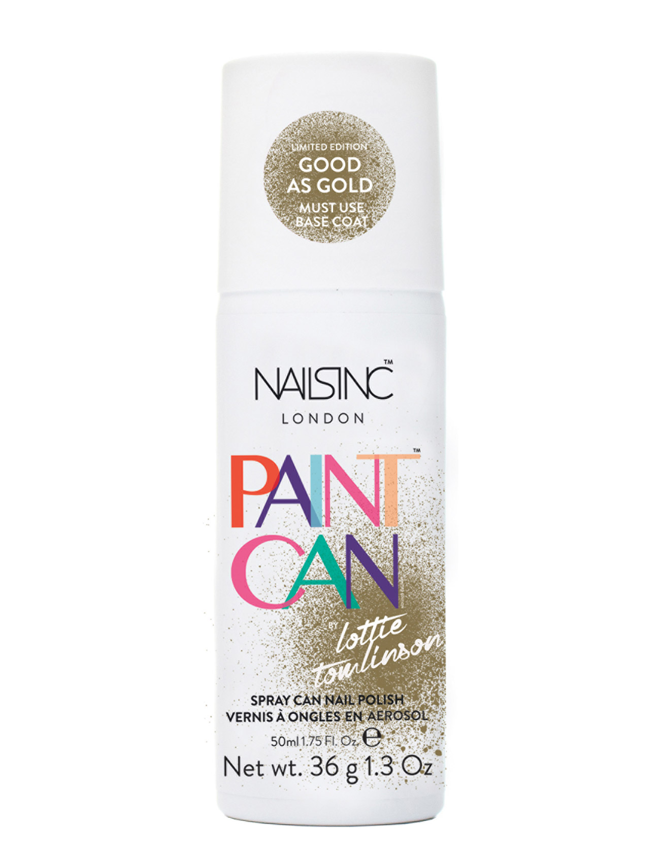 nails inc The paint can- good as gold 50 ml på boozt.com dk