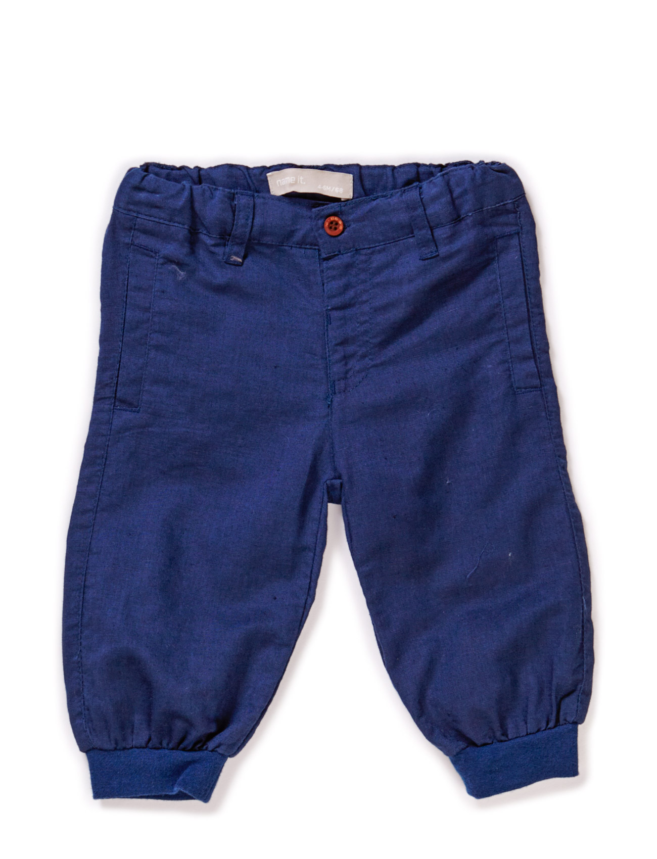Hallan Nb So Bag Linen Pant Wr 215