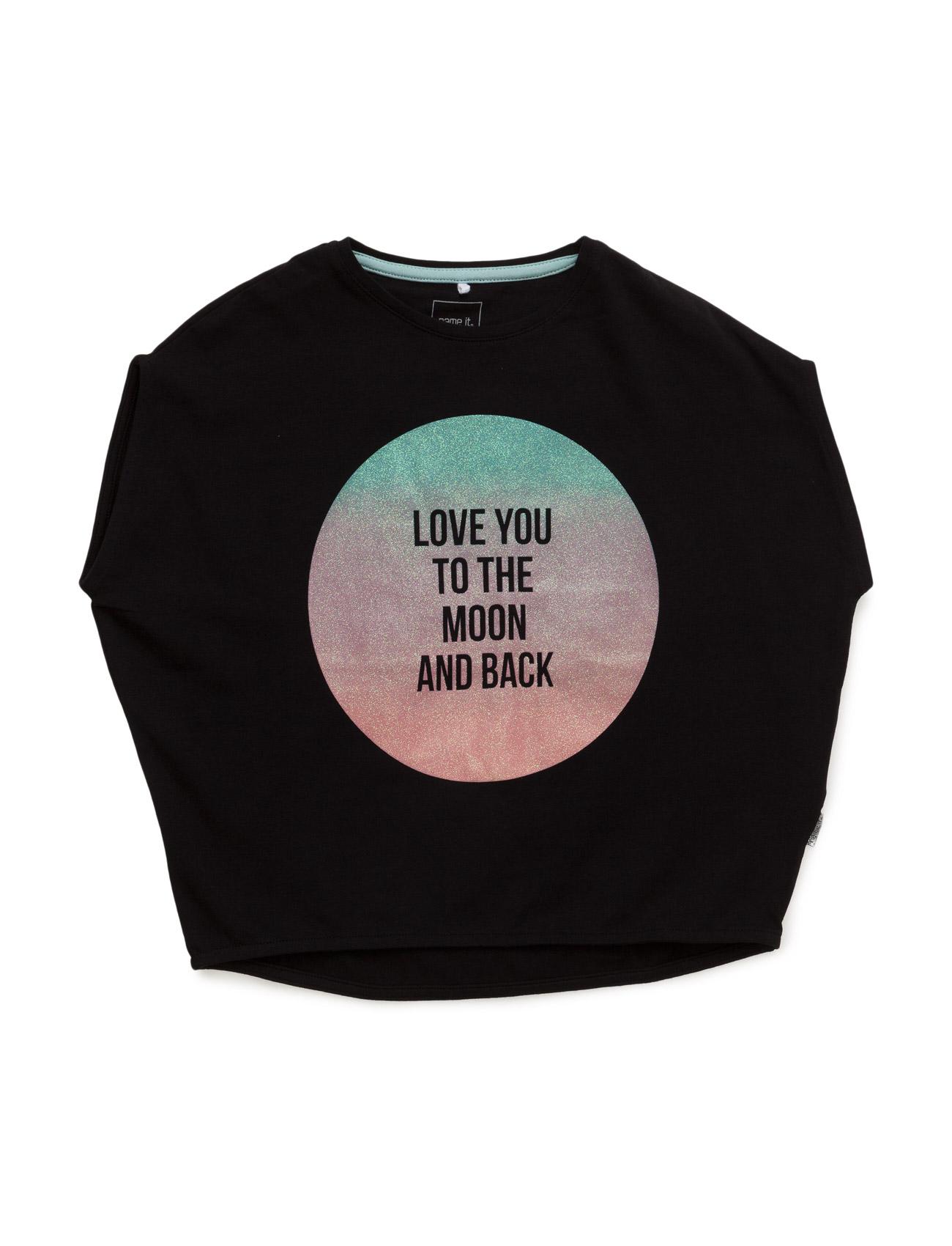 Nitemeline K Capsl Oversize Top 116 name it Kortærmede t-shirts til Børn i Sort