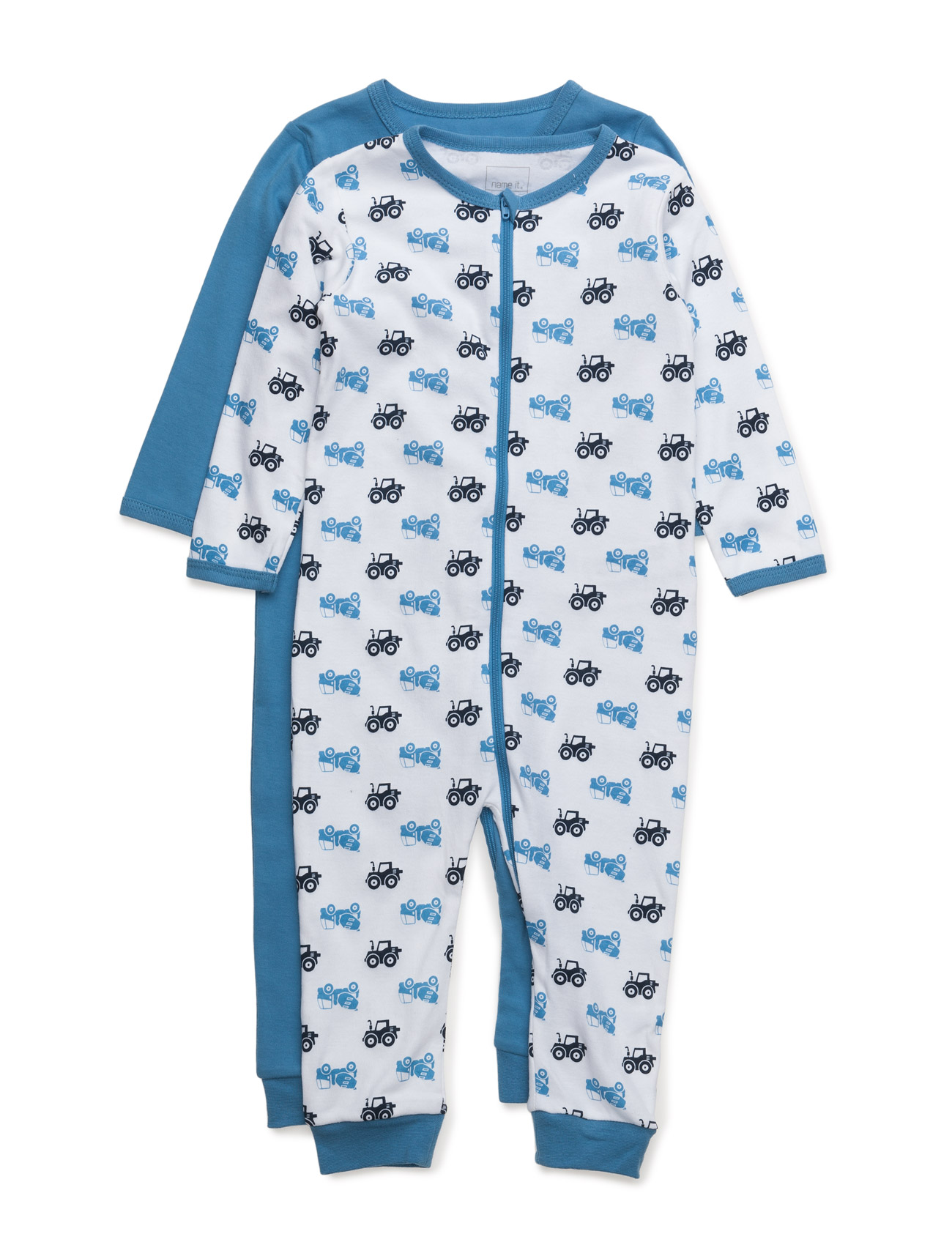 Nitnightsuit 2p Zip Regatta M B Noos name it Pyjamas til Børn i