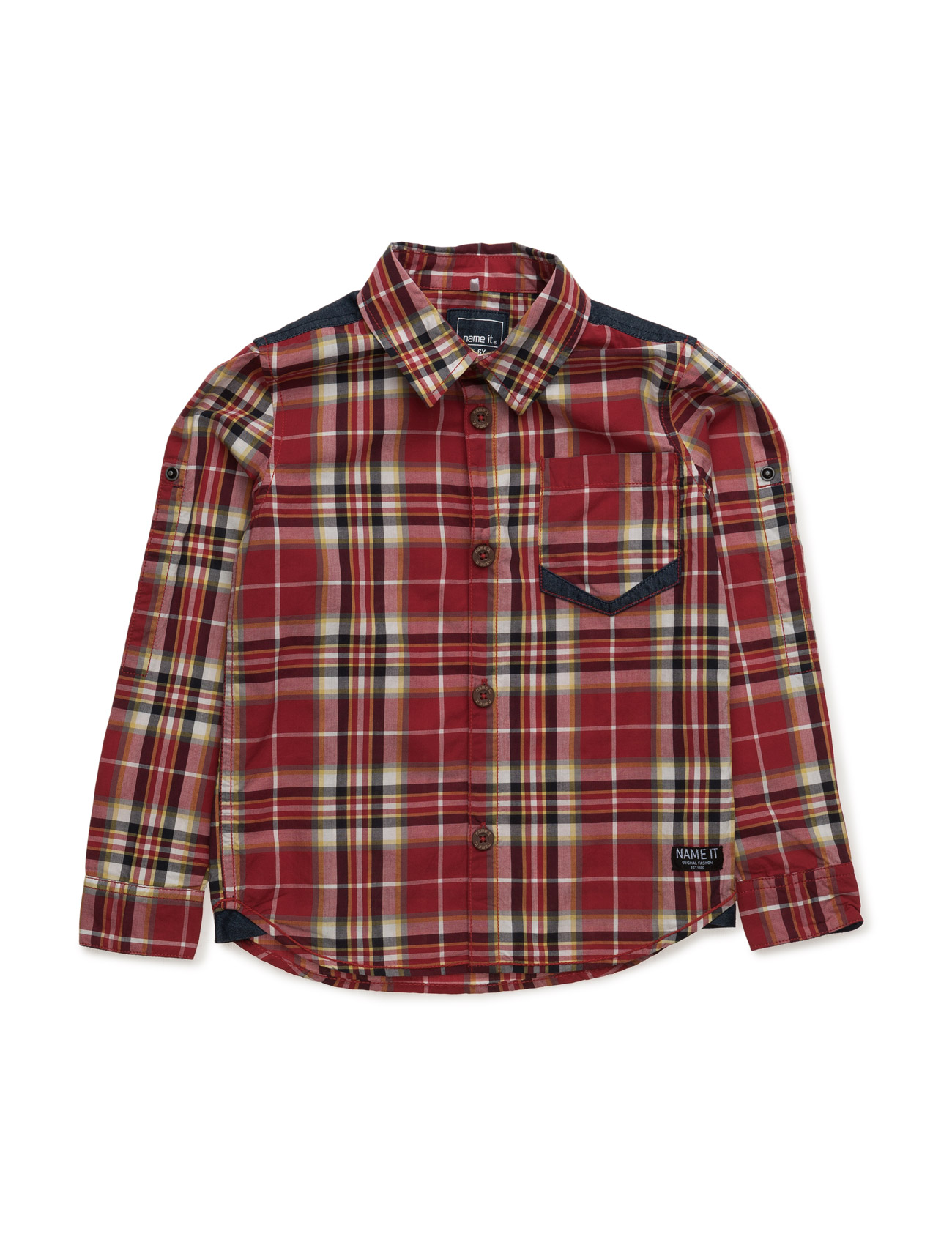 Nitegismo K Ls Shirt X-Sp16 name it 0