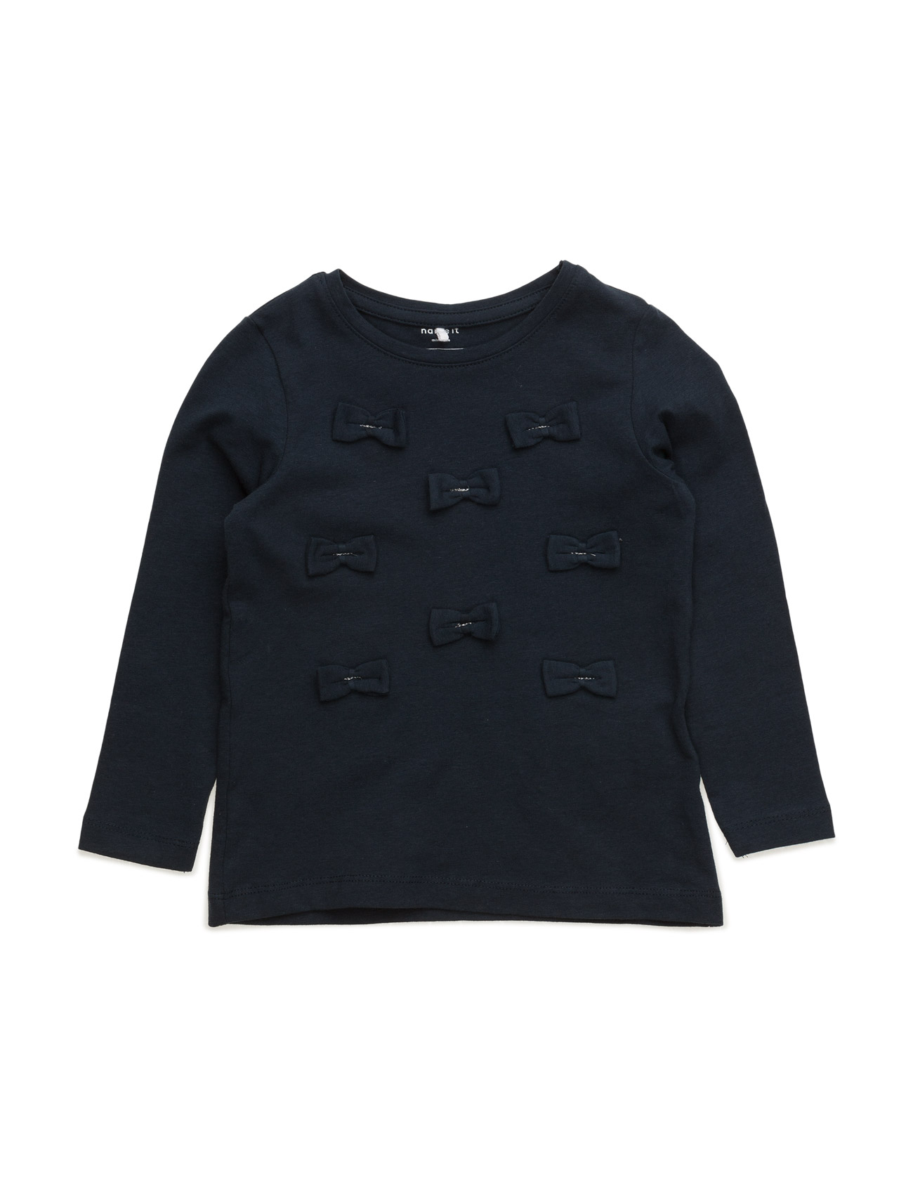 Nitbamilla Ls Top Mz name it Langærmede t-shirts til Børn i Dress Blues