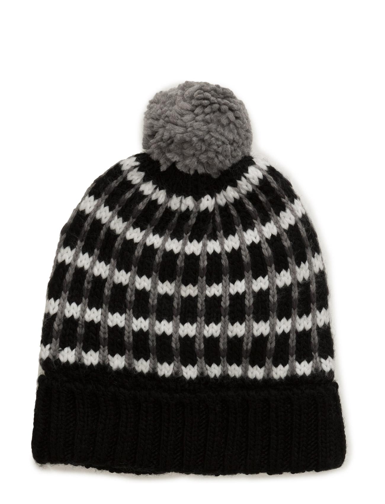 Nitmano Knit Hat Nmt name it Hatte & Caps til Børn i Sort