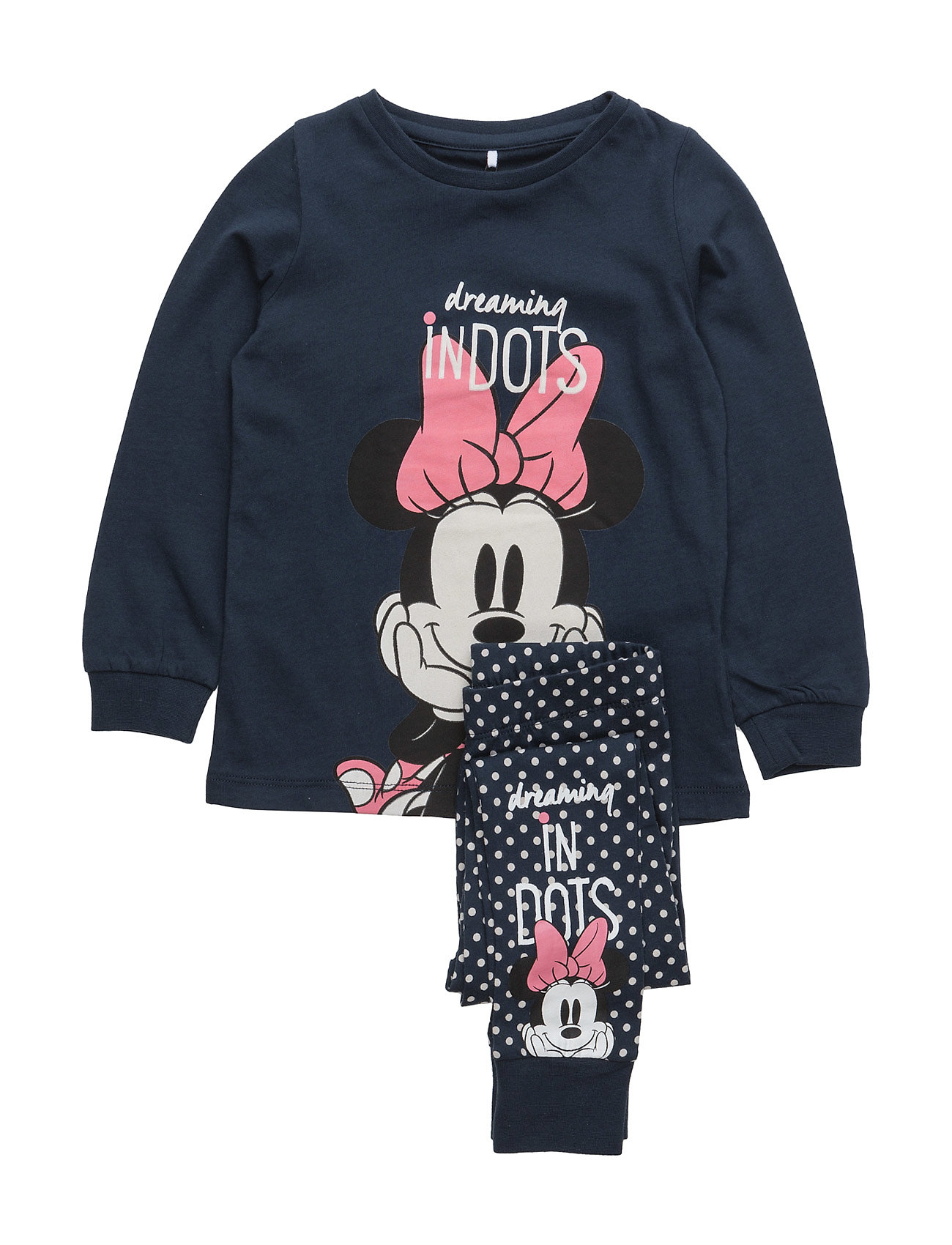 Nitminnie Holly Nightwearset Mz Wdi name it Pyjamas til Børn i Dress Blues