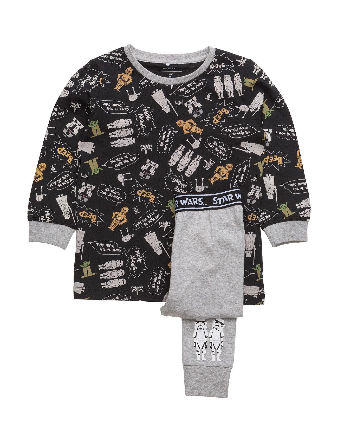 Nitstarwars Alfie Nightwear Mz Wdi name it Pyjamas til Børn i Dress Blues
