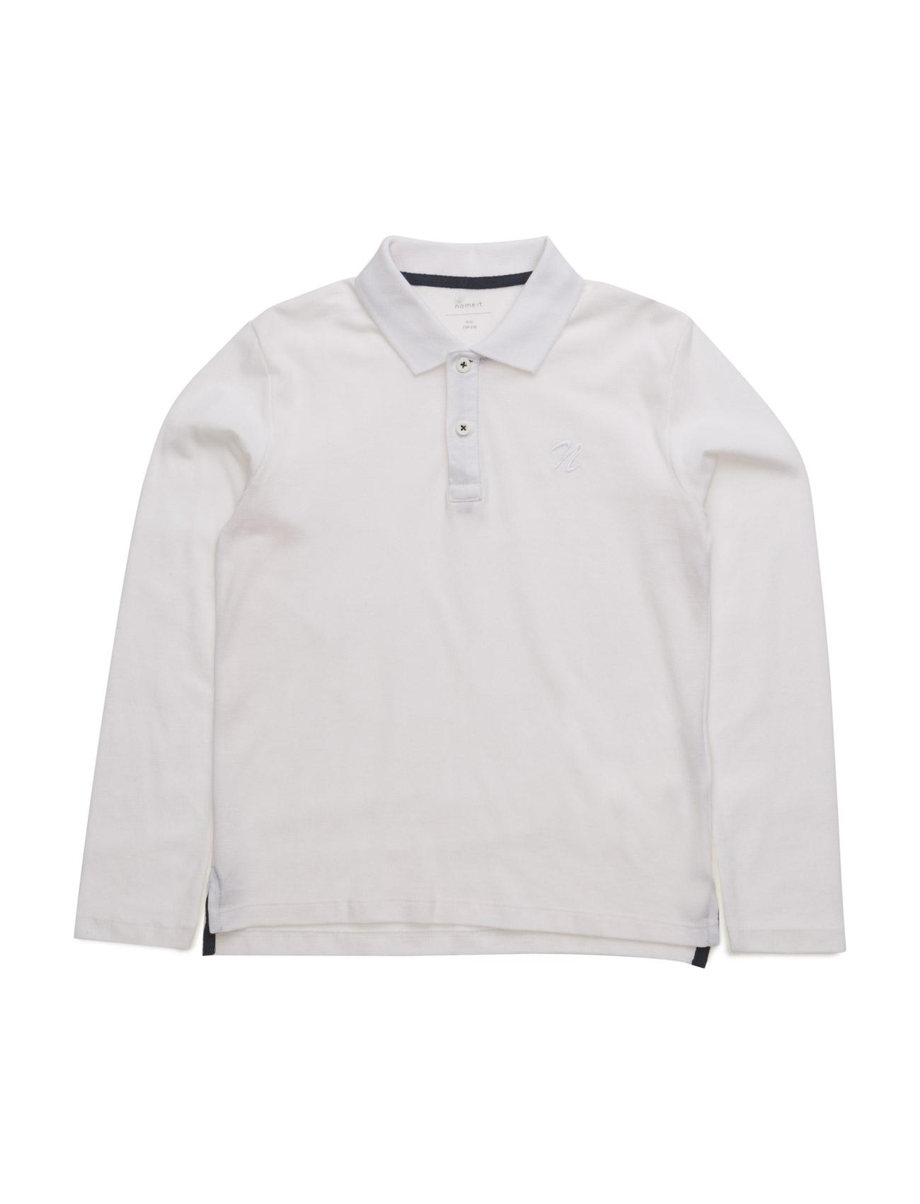Nitlulliver Ls Polo Nmt name it Langærmede t-shirts til Børn i