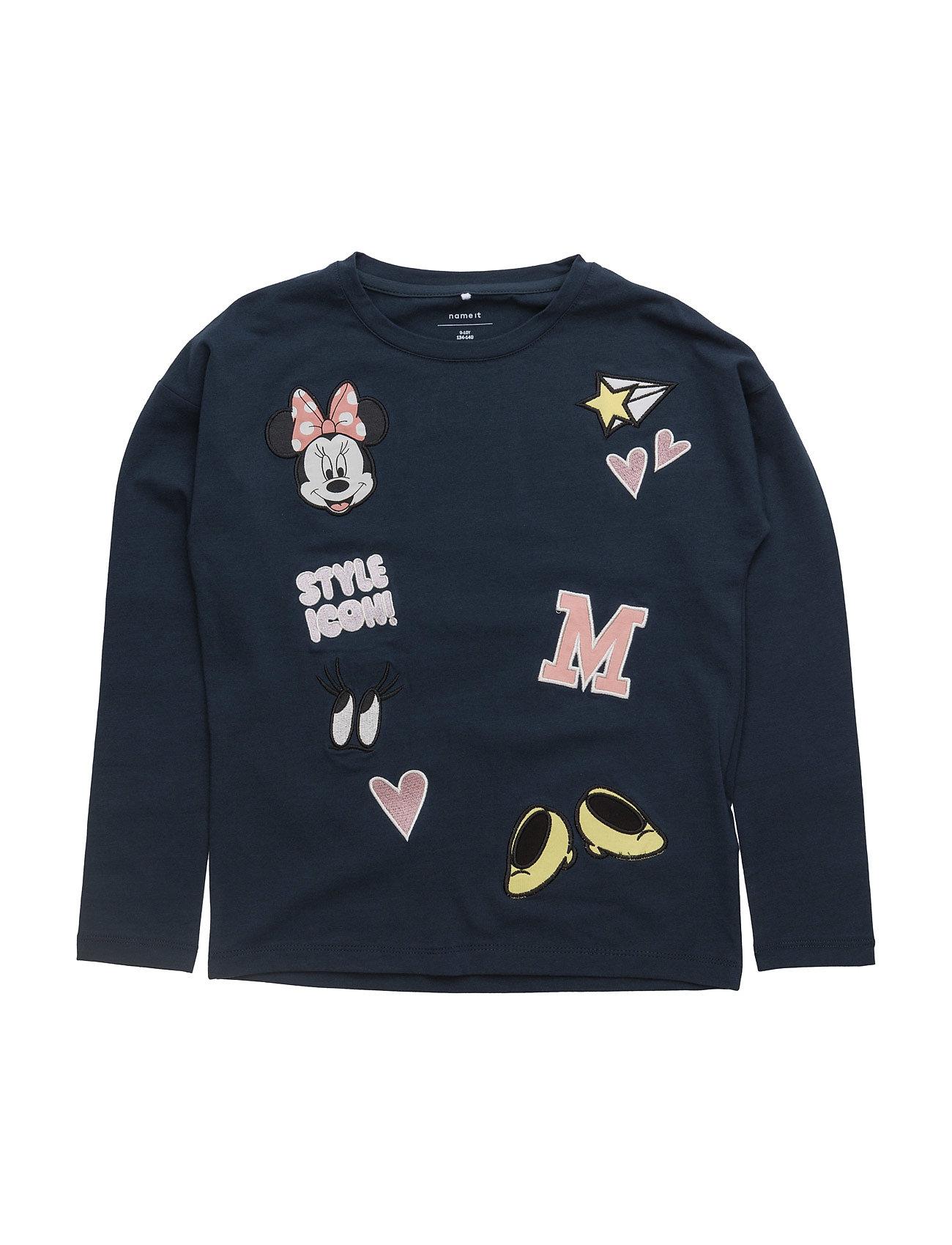 Nitminnie Radella Ls Top Nmt Wdi name it Langærmede t-shirts til Børn i