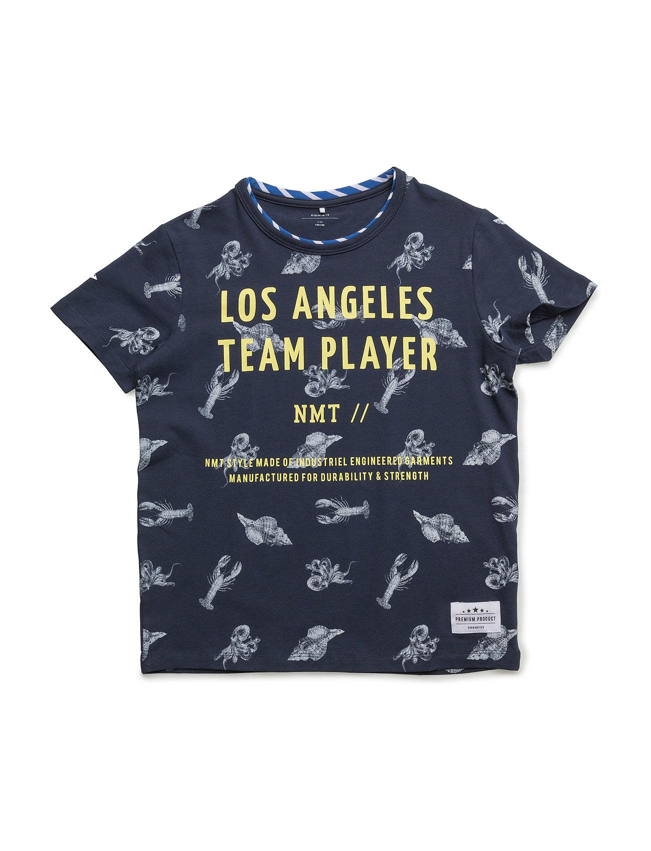 Nitifarli Ss Top Nmt name it Kortærmede t-shirts til Børn i Bright White