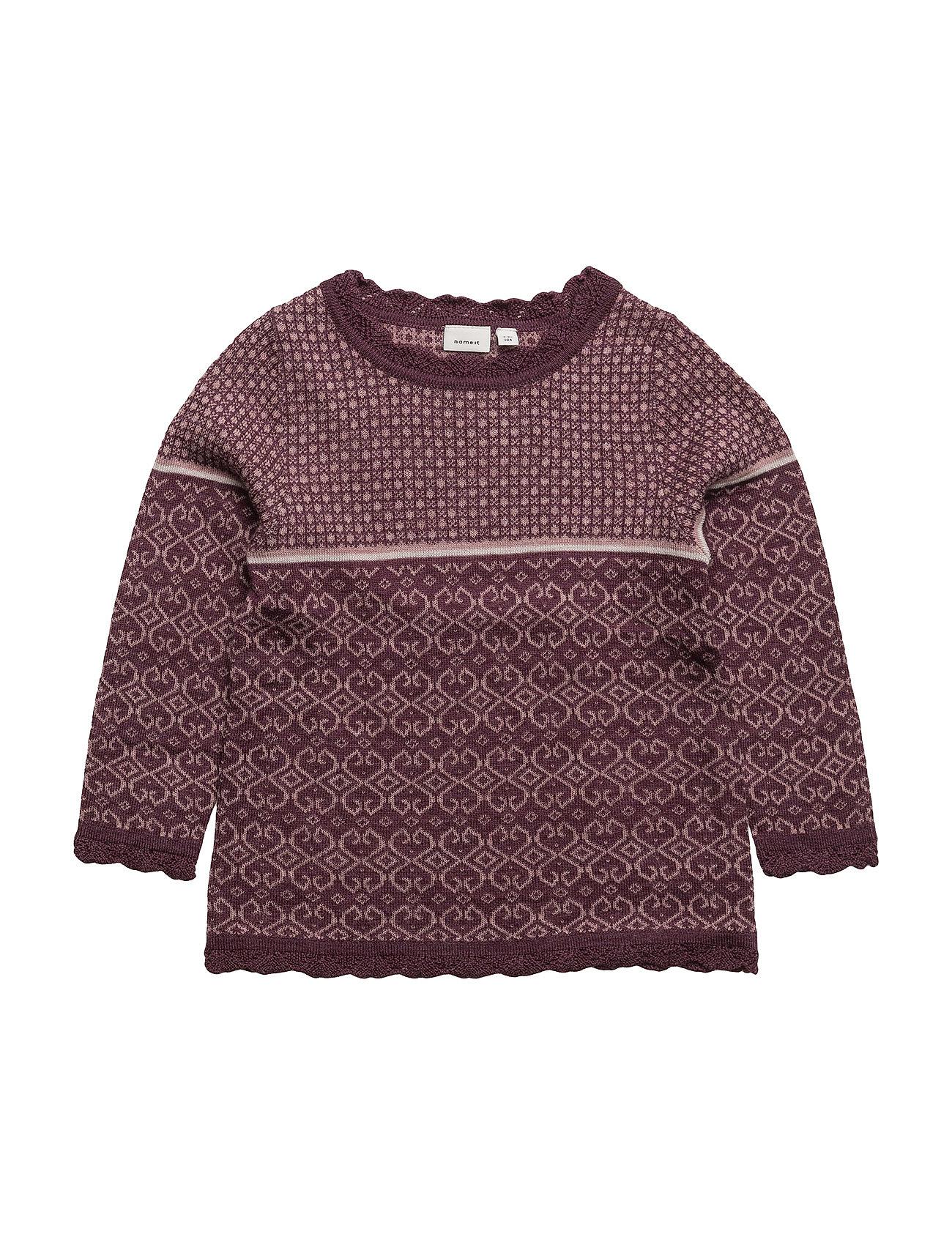 name it – Nitwhoopimix wool knit ls top g mini fra boozt.com dk