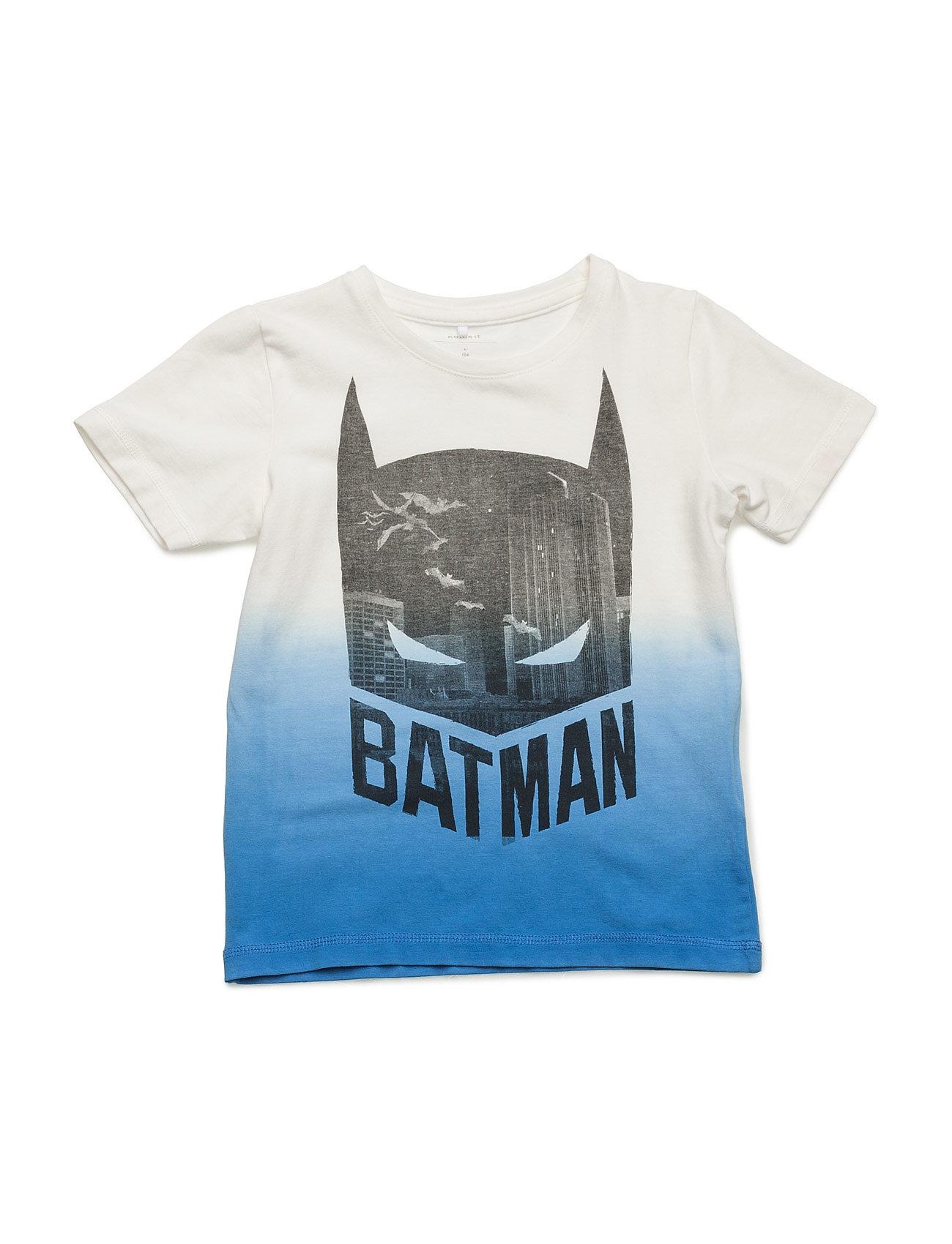 Nitbatman Lacrosse Ss Top Mz Wab name it Kortærmede t-shirts til Børn i Sne hvid