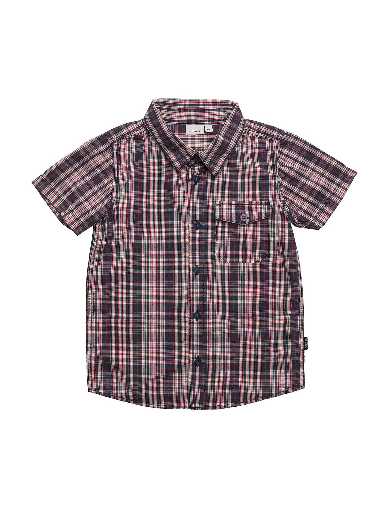 Nitgohn Ss Shirt Mz name it Trøjer til Drenge i Dress Blues