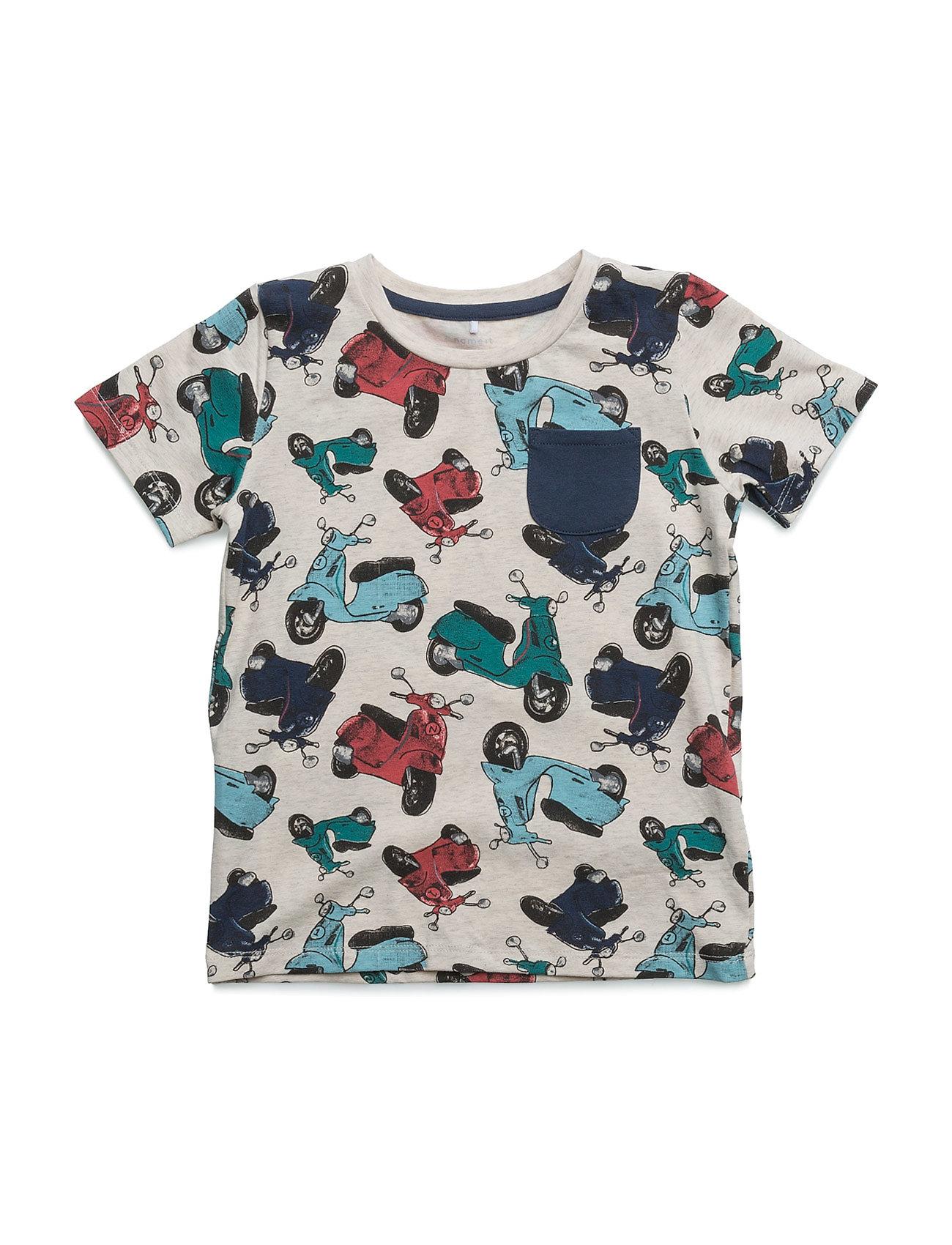 Nitebikeraop Ss Top Mz name it Kortærmede t-shirts til Børn i Dress Blues