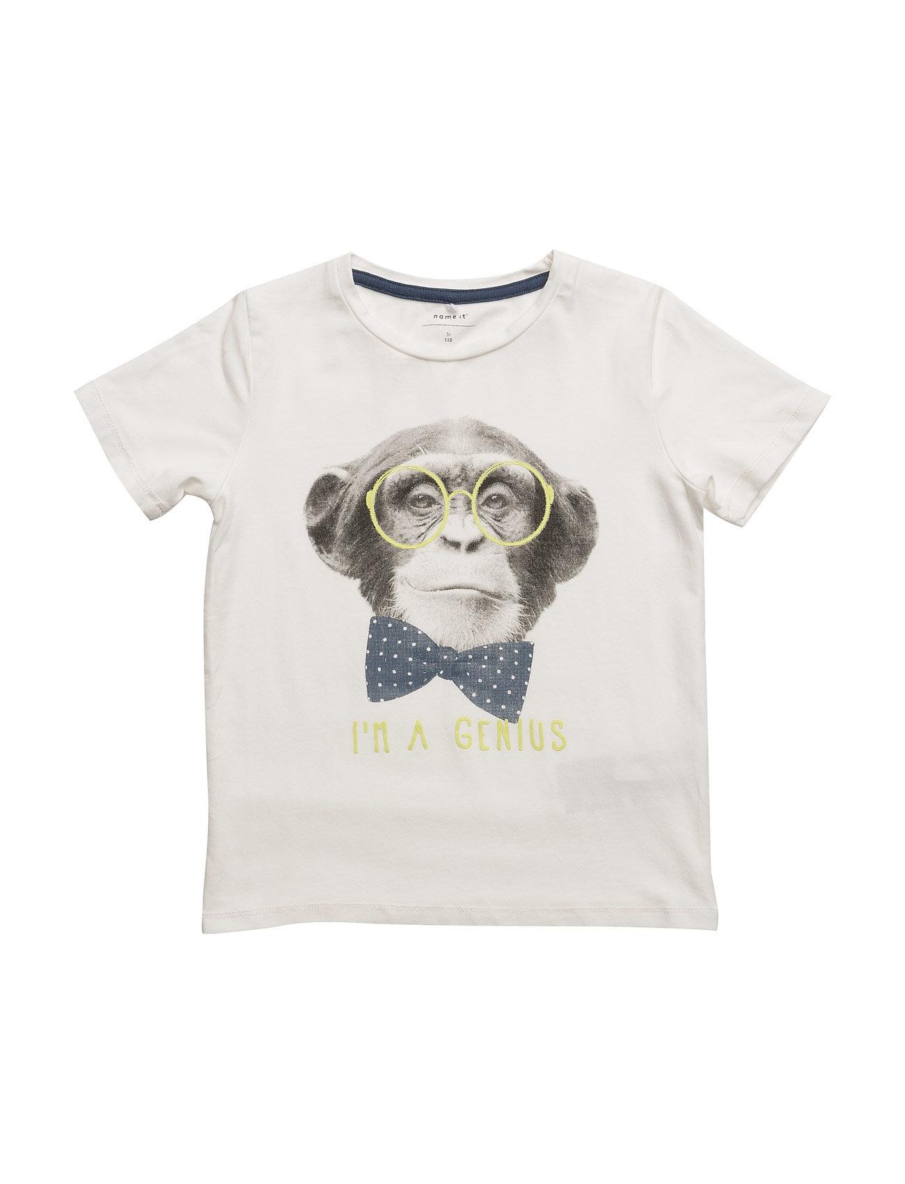 Nitfeben Ss Top Mini name it Kortærmede t-shirts til Børn i Sne hvid