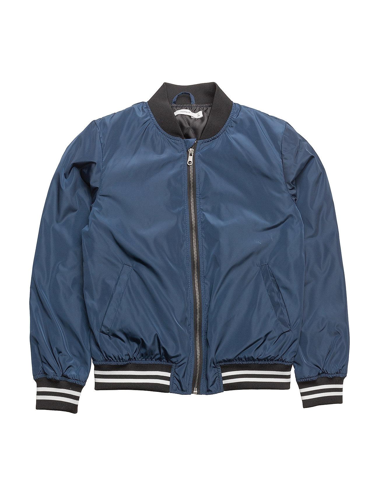 nkmmarten bomber jacket dress blues name it. Black Bedroom Furniture Sets. Home Design Ideas