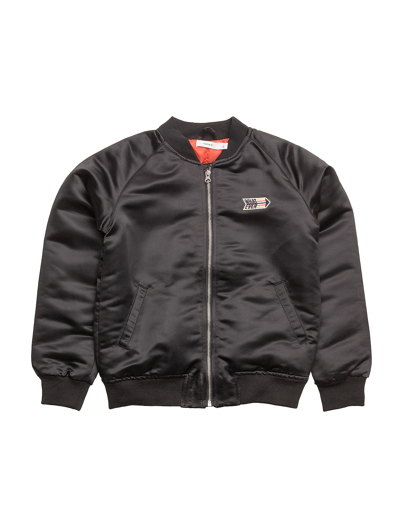 nkmmash bomber jacket black 429 kr name it. Black Bedroom Furniture Sets. Home Design Ideas