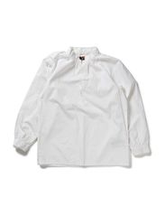 TOBY KIDS LS SHIRT 113 - BRIGHT WHITE