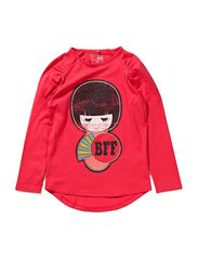 name it FASIA KIDS LS LONG SLIM TOP 113
