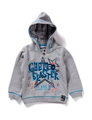 name it DERRY MINI LS SWEAT W HOOD 113