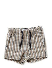 HUBERT SO NB TWILL SHORTS 213 - MOON ROCK