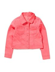 name it GELAILA KIDS SHORT TWILL JACKET NEON213