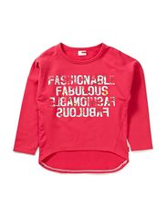 DALINA KIDS LS OVERSIZE SWEAT X-SP13 - RASPBERRY (Pantone)