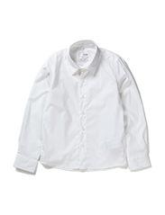 PAKS KIDS SLIM LS SHIRT 613 - Bright White