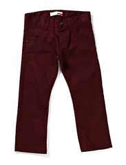 PRED MINI SLIM TWILL PANT 613 - Burgundy