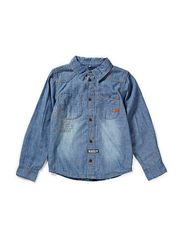 ADOMO KIDS DNM LS SHIRT 613 - DENIM