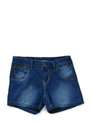 ALUI KIDS SLIM DNM SHORTS CAMP SP14 - Light Blue Denim