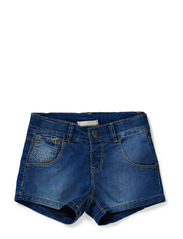 ALUI MINI REG DNM SHORTS CAMP SP14 - Light Blue Denim