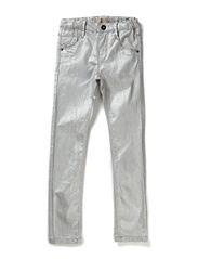 ANN KIDS DNM LEGGING 114 SILVER - Silver