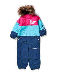 STORM KIDS SNOWSUIT BLOCK ST GIRL FO 314 - Pink Glo