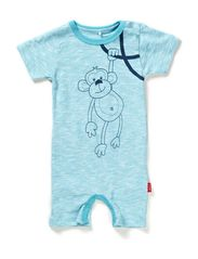 YUMMI CU NB SS SUIT BOY 214 - Bachelor Button