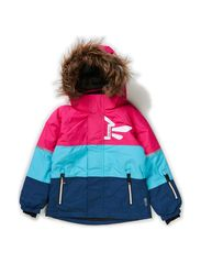 STORM KIDS JACKET BLOCK STR GIRL FO 314 - Pink Glo