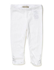 IBEN MINI CAPRI LEGGING 214 - Bright White