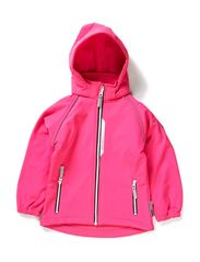 ALFA KIDS SOFTSHELL SOLID PINGIRL FO 314 - Pink Glo