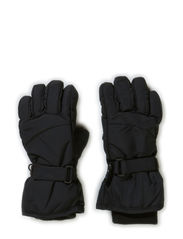 WIND KIDS GLOVES BLACK FO 314 - Black