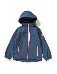 ALFA KIDS SOFTSHELL JKT DENIM BOY FO 314 - Dark Denim